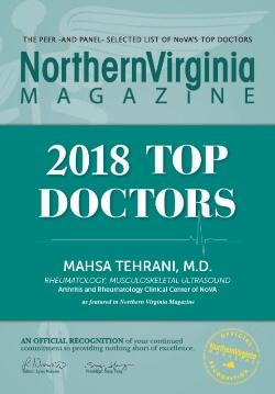 Dr. Mahsa Tehrani - Top Doctors 2018 Award