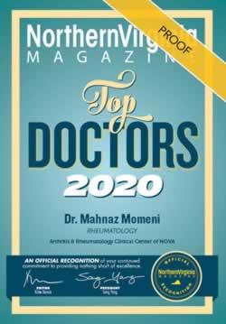 Dr. Mahnaz Momeni - Top Doctors 2020 Award