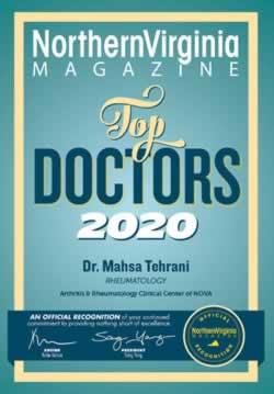 Dr. Mahsa Tehrani - Top Doctors 2020 Award