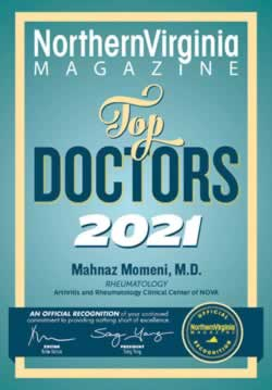 Arthritis & Rheumatology Clinical Center of Northern Virginia - 2021 Award