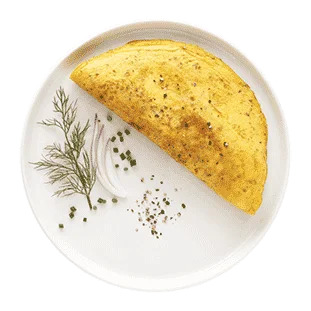 Ideal Protein Breakfast Cheese Omelet